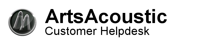 ArtsAcoustic Customer Helpdesk